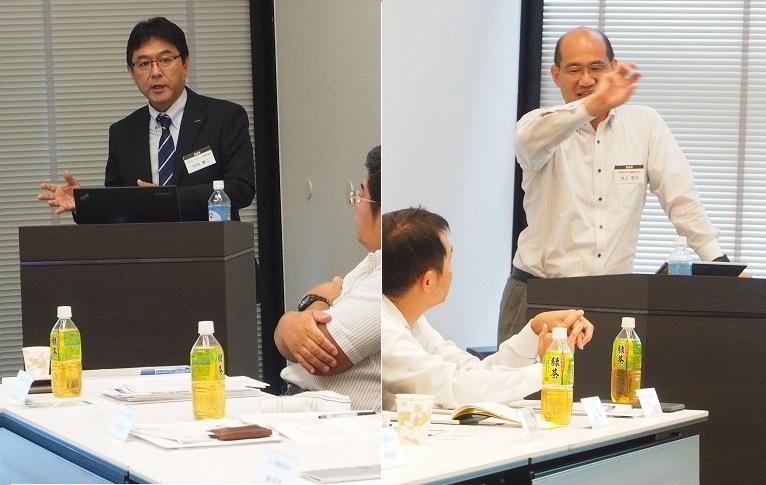 選択制セッションの講師の皆様<br />(左:竹内様、右:池上様)
