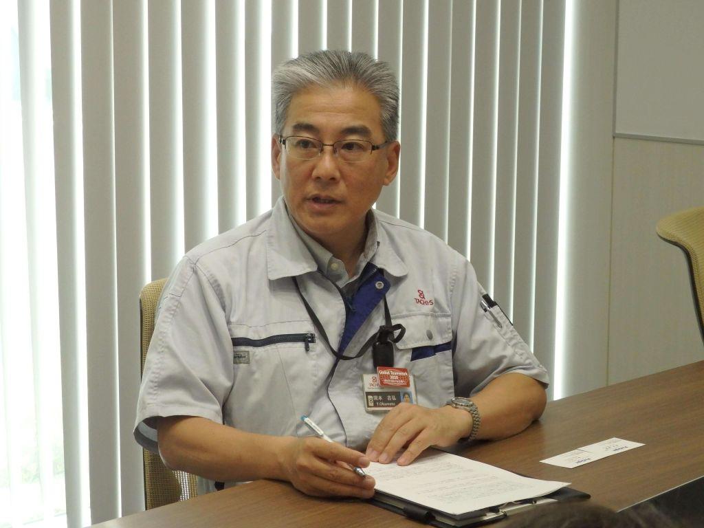 株式会社タチエス 開発総括部 ジェネラルマネージャー 岡本 吉弘 氏.JPG