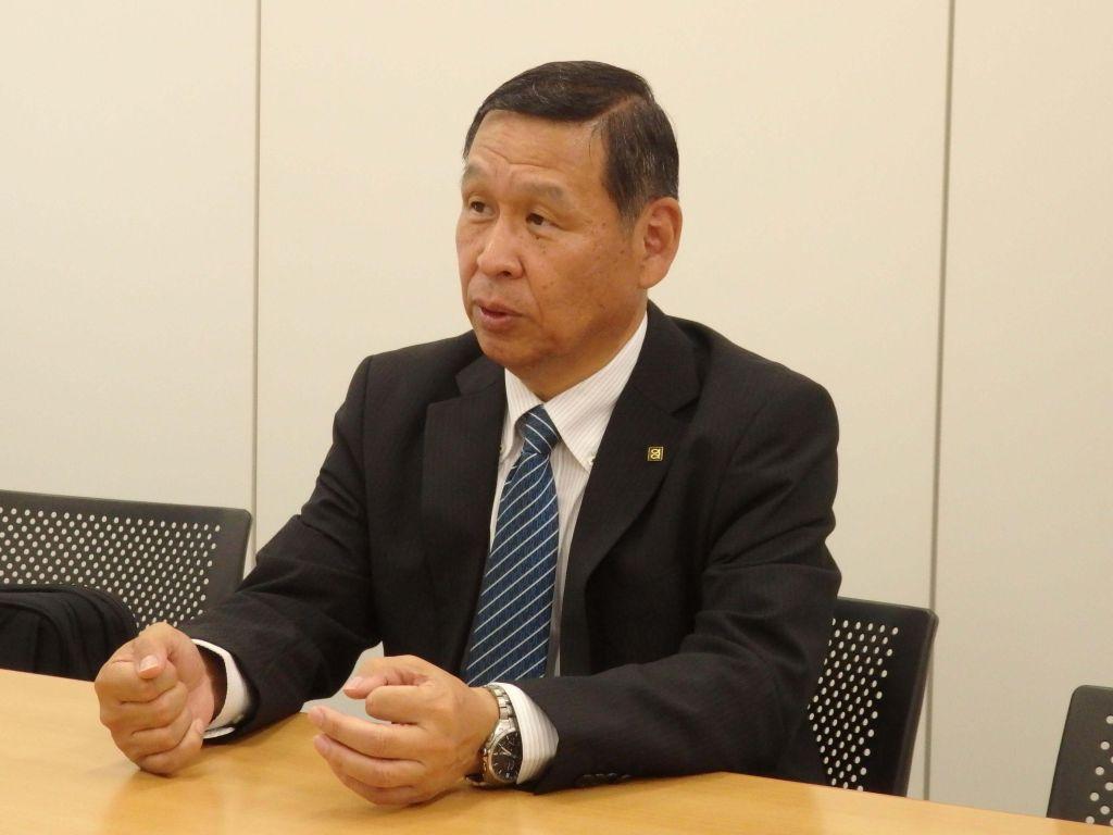 株式会社タチエス 取締役 常務執行役員(当時) 島﨑 満雄 氏.JPG