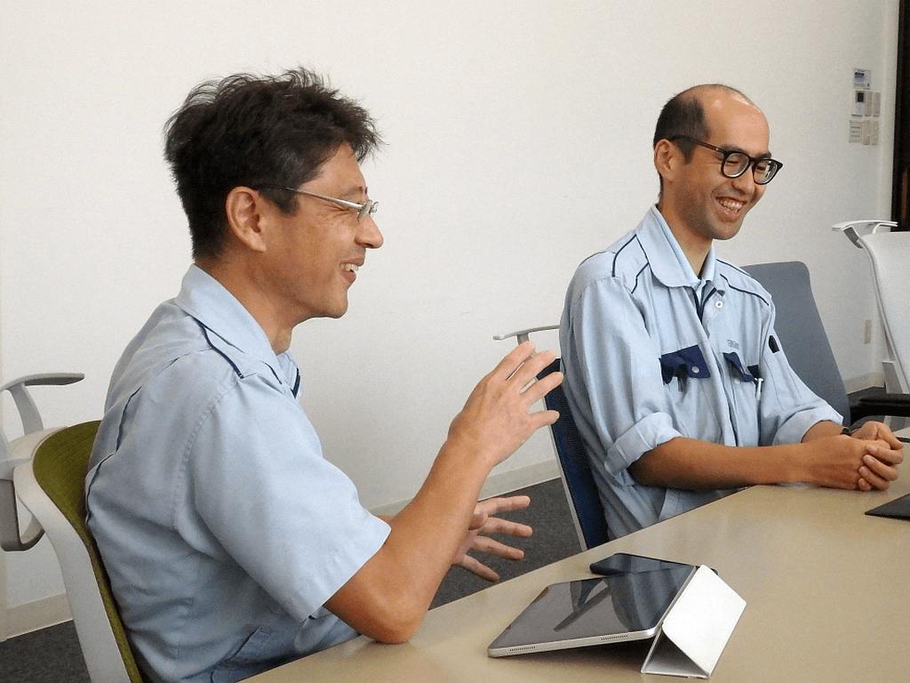 タカノ株式会社 KnowledgeExplorer インタビュー風景