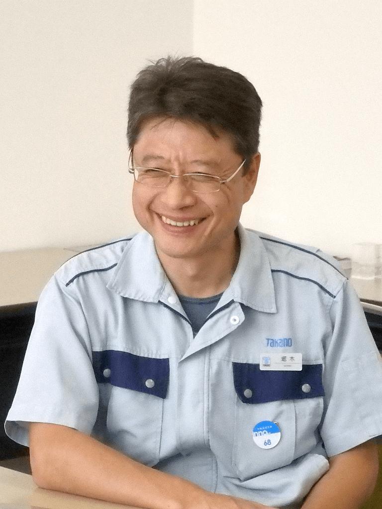 タカノ株式会社 ファニチャー部門 開発部 部長 堀木敏幸 様