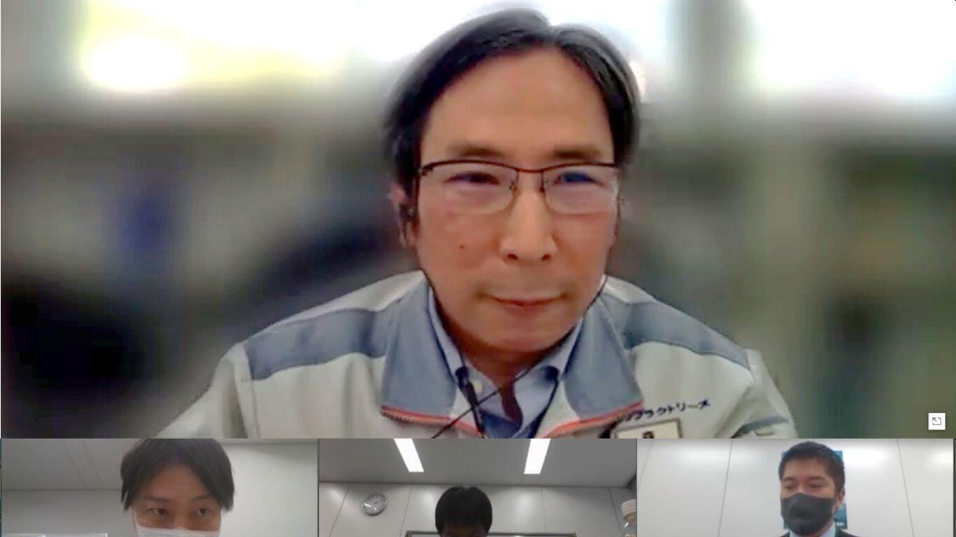 技術研究所 技術部 部長 森淳一郎 様(インタビューはオンラインにてご対応いただきました)
