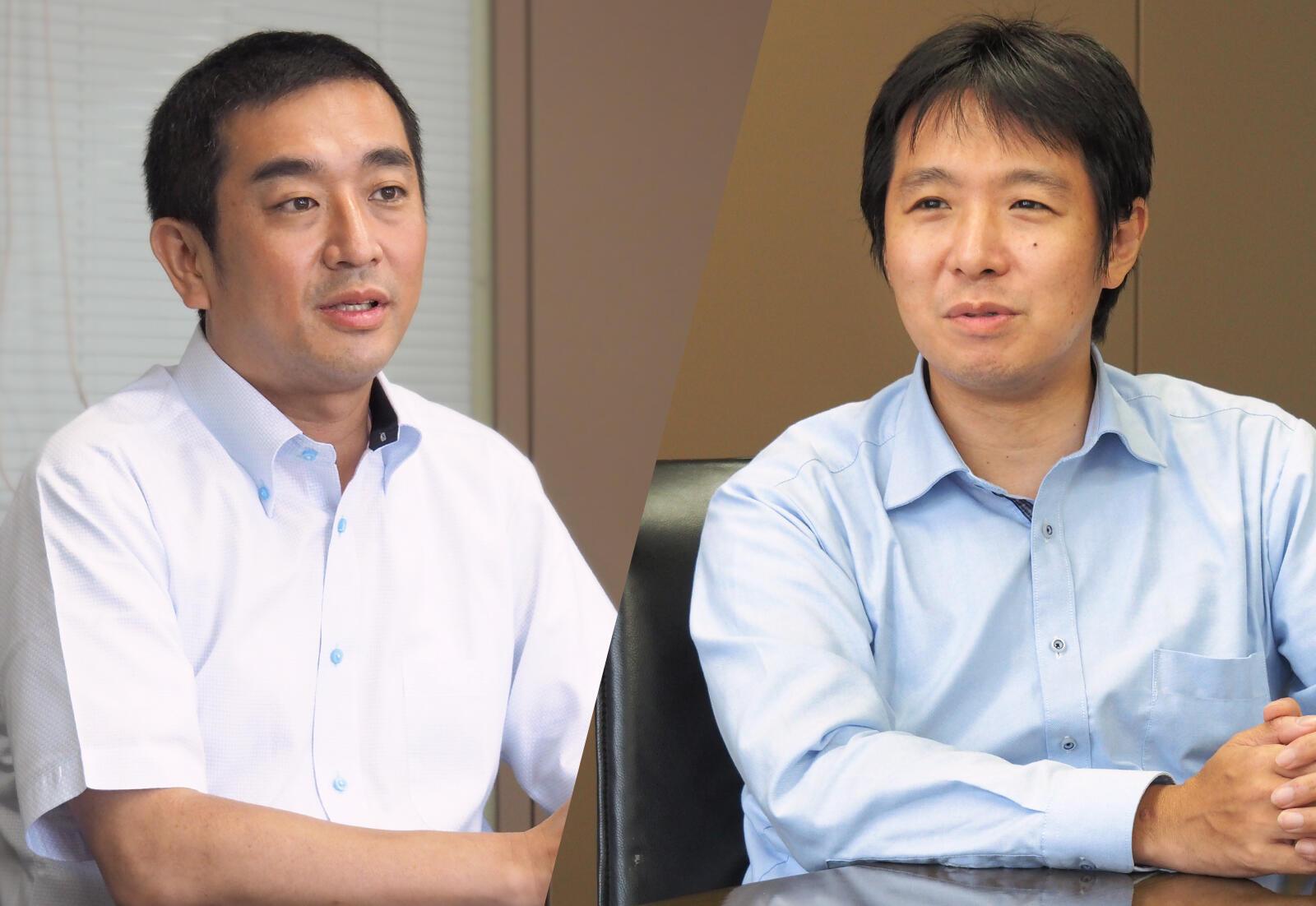 図研 高木良亮氏(左)と、図研プリサイト 倉本将光(右)
